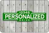 Personalized Street Sign #3 - green