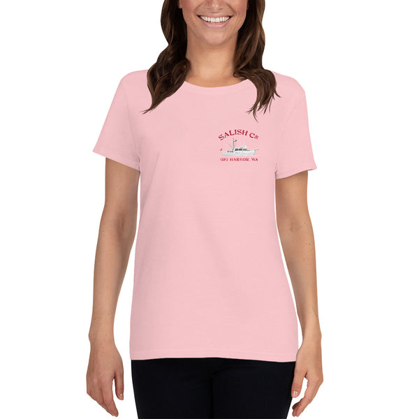 SALISH Cs 42' Grand Banks - Women's short sleeve t-shirt