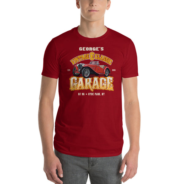 George's Vintage & Classic GARAGE Short-Sleeve T-Shirt