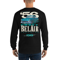 '56 Chevy Bel Air - Men's Long Sleeve Shirt