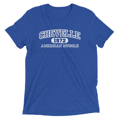 1972 Chevelle American Muscle Short sleeve t-shirt
