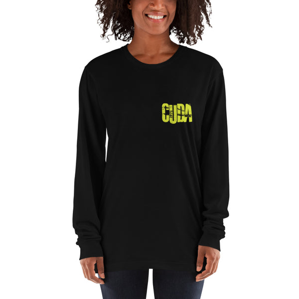 1971 CUDA - Curious Yellow - UNISEX - Long sleeve t-shirt