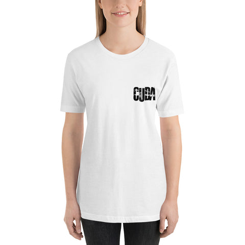 1971 CUDA Short-Sleeve Unisex T-Shirt - Black Print