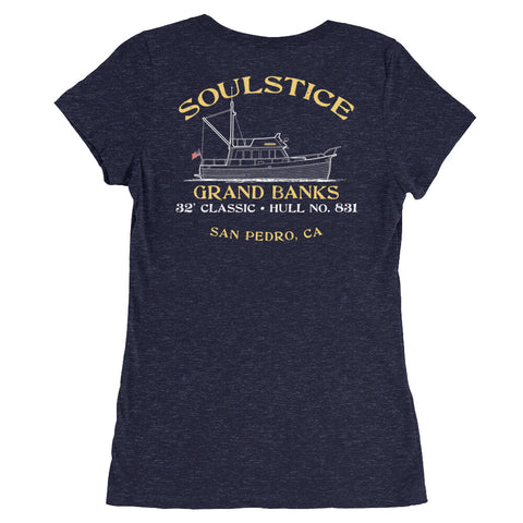 SOULSTICE Grand Banks Classic 32 - Ladies' short sleeve t-shirt