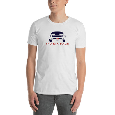 440 Six Pack CHALLENGER Short-Sleeve Unisex T-Shirt
