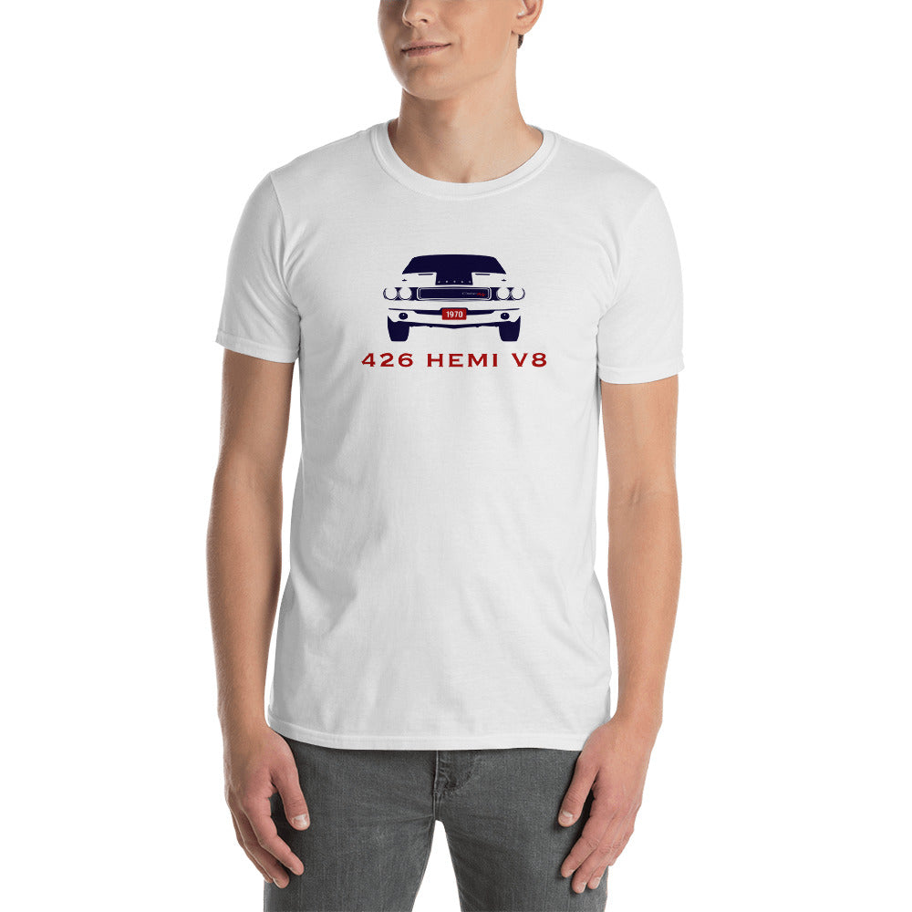 426 HEMI V8 CHALLERGER Short-Sleeve Unisex T-Shirt
