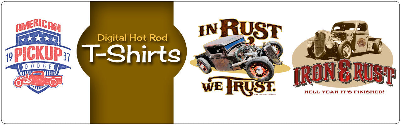 Digital Hot Rod T-Shirts