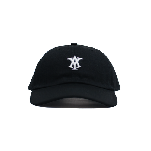 AY LOGO DAD HAT - BLACK