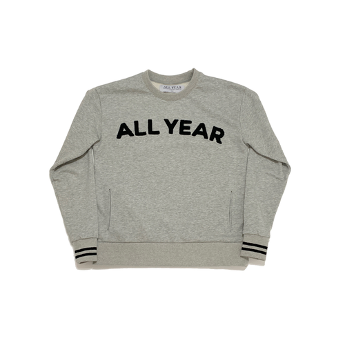 COOPER CREWNECK - HEATHER GRAY