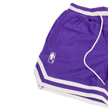 NB-AY MESH SHORTS - PURPLE