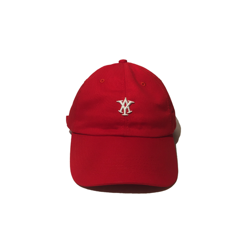 AY LOGO DAD HAT - RED