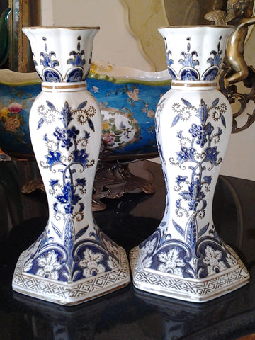 Porcelain - Big CandleStick Holder