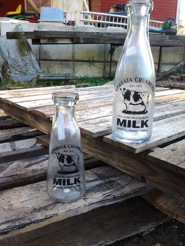 Milk Bottle - Small Ephrata Creamery 1870