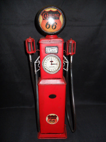 Metal Tin - Route 66 Gas Pump