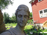 Stone Statue - Life Size Hand Carved Diana / Artemis