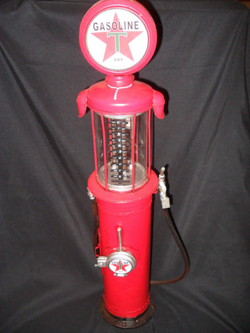 Metal Tin - Gas Pump Collectable