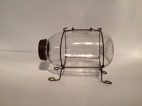 Minnow Catcher - Small Montana Bait Company Clear Glass