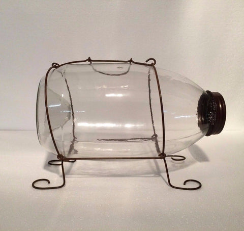 Minnow Catcher - Large Montana Bait Company Clear Glass