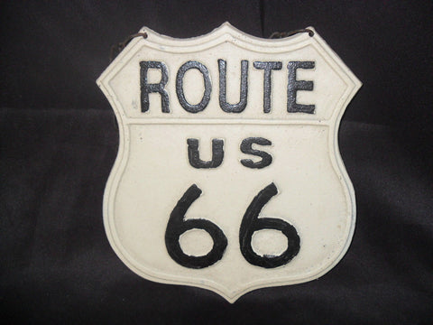Cast Iron Sign - Route 66