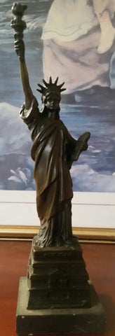 Bronze Figurine - Statue of Liberty