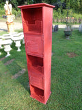 Industrial Red Locker Cabinet