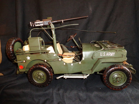 Vintage Toys - Willys 1941 Jeep WWII