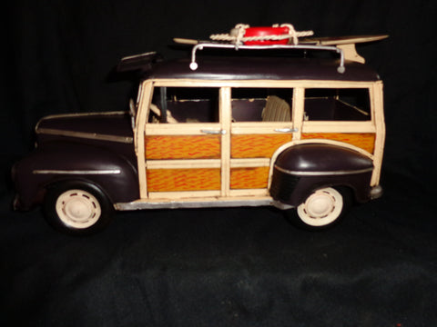 Vintage Toys - Ford Classic Woody Wagon Surfboard
