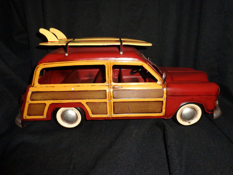 Vintage Toys - Ford Classic Woody Wagon Surfs Up 2 Surfboards