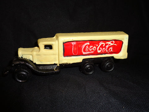 Cast Iron Toy - Coca-Cola Delivery Truck