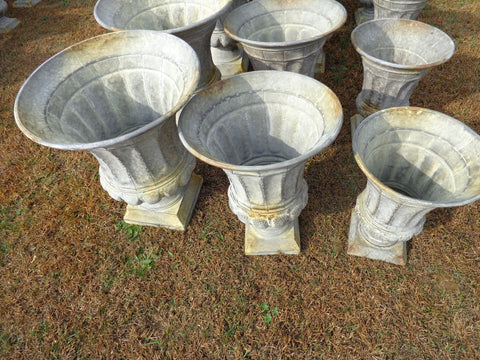 Industrial Planter 3 PC. Planter/Urn Set