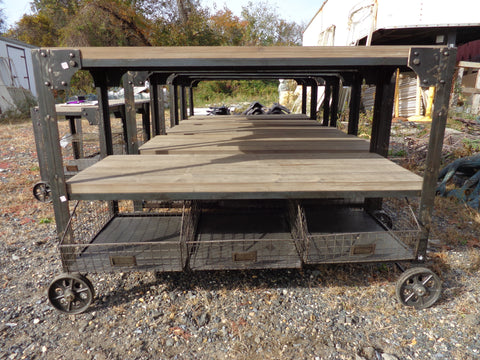Medium Industrial Finish Trolley