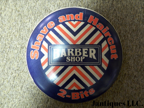 "Tin Sign - ""Advertising Vintage Metal Logo Barber Shop 12"""