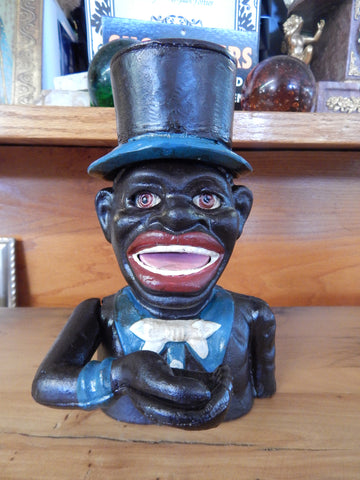 Black Americana Mechanical Bank