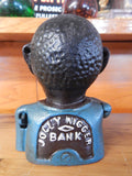Cast Iron Mechanical Bank - Americana Jolly Boy