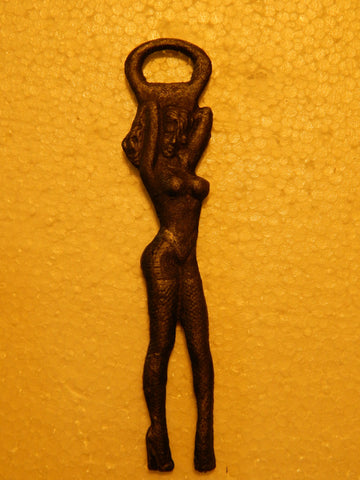 Bottle Opener Pin-Up Girl Sexy Stripper Hand-Held Bottle Opener