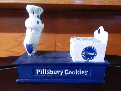 Pillsbury Doughboy Bank Limited Edition TPC-1998 Coin Bank