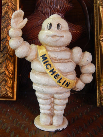 Cast Iron Bank - Michelin Tire Man Standing