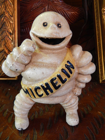 Cast Iron Figurine - Michelin Tire Man Advertising Reg. 67548 Bibendum