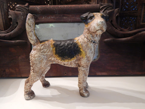 Cast Iron Penny Bank - Hubley Dog