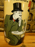 Umbrella Stand Porcelain - French Absinthe c.1905 Advertising