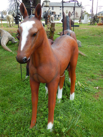 Foal Life Size Statue