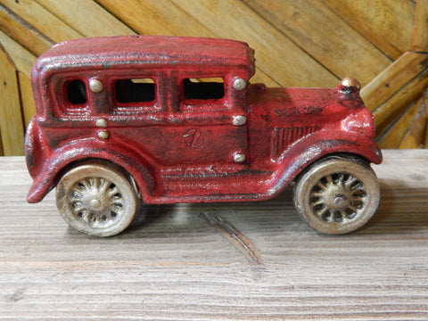 Vintage Cast Iron Car