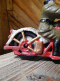 Cast Iron Figurine - Hubley Motorcycle Patrol