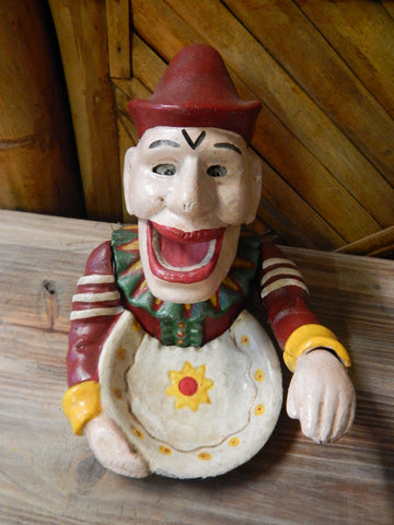 CLOWN Cast Iron Nut Cracker - Clown Joker