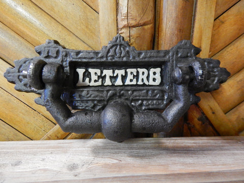 Door knocker -Cast Iron Letter Box