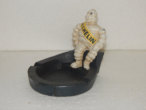 Cast Iron Ashtray - Michelin Man
