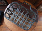 Metal Tin - Wine Rack Carrier