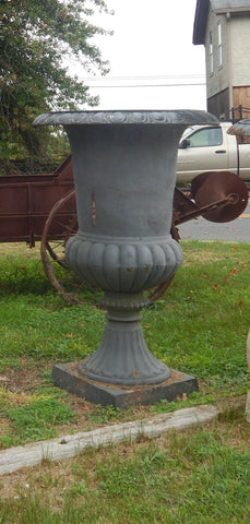 Urn Cast Iron -Pair Large Planter