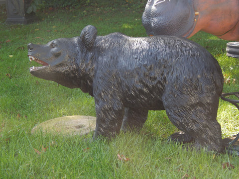 Statue - Life Size Baby Black Bear