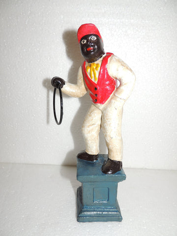 Lawn Jockey Cast Iron